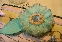 Crafts: Flower Power / Lovely fabric flowers! / by Christi