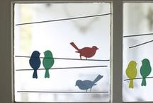 Baby Bird Nursery / Bird themed nursery ideas. / by Catherine Moss