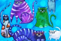 Cat Art and Other Catty Things / by kia2828