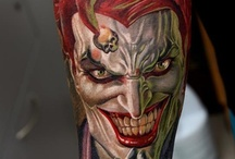 Joker Tattoos / by Miguel Maldonado