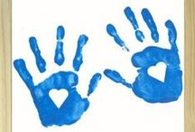 Kids Handprint Crafts / by Catherine Moss
