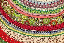 Art: Color & Pattern (2) / I'm spellbound by bright, repeating patterns and designs! / by Christi