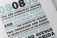 Invitations / by Steffan Cummins
