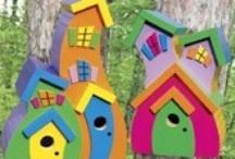 Birdhouses / by kia2828