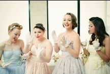 Pretty Weddings / Obligatory wedding board.