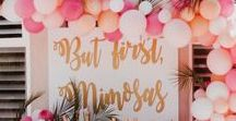 mother's day parteee / mothers day & bar cart decorating idas