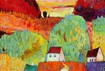 Art: Jane Filer / Her work is so full of light and color! / by Christi