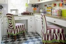 Beautiful Sewing Rooms / Rooms that inspire our creative spirit!