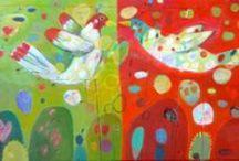 Art: Mary Bergherr / Wonderful folk art! / by Christi