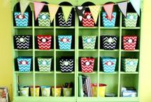 Kids Organisation / Here's a range of awesome ideas to organise around your kids