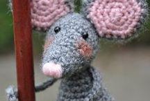 Amigurumi - Tiny Critters, knit or crochet / by kia2828
