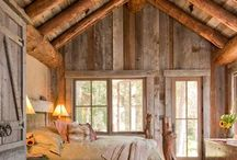 Cabin Fever / Inspiration for my new cabin / by Suzanne Plant