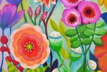 Art: Flowers / by Christi