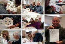 Art Therapy Artwork / Artwork made in relation to art therapy by service users, practitioners and sometimes both!