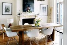 pendant + dining room table