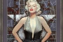 "Julia Khoroshikh. ""Old Hollywood"" series. / Products from my ""Old Hollywood"" series http://www.redbubble.com/people/clipsocallipso/collections/484674-old-hollywood http://pixels.com/profiles/julia-khoroshikh.html?tab=artworkgalleries&artworkgalleryid=614575 https://society6.com/clipsocallipso/collection/old-hollywood  #marilynmonroe #elizabethtaylor #audreyhepburn #richardburton #hollywood #art #portrait  #painting #celebrity #movies #cinema #actress #20thcentury"