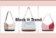 The Sak   Block It Trend / Featuring The Sak's signature color blocking purses! bit.ly/1TWkqHp