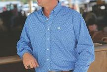 Men's Apparel & Jeans / It's easy to find the western shirts and work shirts you want at Cavender's. Whether it's solid or plaid shirts for men or the perfect denim shirt, we have it. Looking for the right pair of men's jeans or men's western pants? At Cavender's, we carry the leading selection of men's pants and jeans for men at great prices.