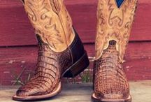 Lucchese Cowboy Boots / Pamper your feet with Lucchese cowboy boots. Lucchese boots are designed around the human foot, which sets their boot company apart from the rest.