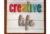 Create: DIY Crafts / All craft related projects I would like to create or have already completed