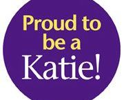 Katie Pride / Purple, gold, and feeling proud—get your Katie on!