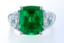 Emerald Jewelry / Browse our selection of gorgeous emerald jewelry.  Call us at 216-464-6767 for more information.
