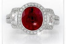 Ruby Jewelry / Browse our selection of ruby jewelry.  Call us 216-464-6767 for more information.