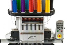 machine embroidery / by Michele McLean