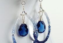 BLUE Jewelry Inspiration / Jewelry that inspires you to make even more awesome jewelry!