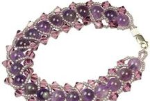 PURPLE Jewelry Inspiration / Jewelry that inspires you to make even more awesome jewelry!