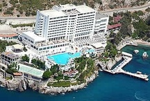 Korumar Hotel  / Korumar Hotel is a Five Star Deluxe hotel offering its guests first class service and incomparable views of Pigeon Island and Kusadasi year round.