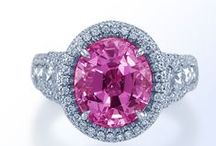 Pink Sapphires / If you love pink, then you'll love our selection of pink sapphire jewelry!