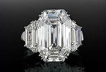 Diamonds Are A Girl's Best Friend / The best looks in engagement rings wedding bands and diamond jewelry.