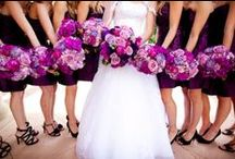 Radiant Orchid Wedding / Choose the color of the year for your wedding color.