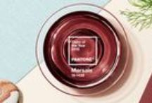 Marsala 2015 Pantone Color Of The Year / As the 2015 Pantone Color of the Year, Marsala is a naturally robust and earthy wine red.  A beautiful and rich color.