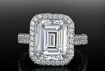 Emerald Cut Engagement Rings / Browse our collection of emerald cut engagement rings.  Call us at 216-464-6767 for more information.