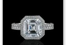 Asscher Cut Engagement Rings / Browse our selection of Asscher cut engagement rings. / by Alson Jewelers