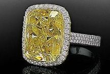 Fancy Yellow Diamond Engagement Rings / Browse our selection of fancy yellow diamond engagement rings.   / by Alson Jewelers