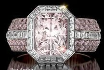 Fancy Pink Diamond Engagement Rings / Browse our selection of fancy pink diamond engagement rings.  / by Alson Jewelers