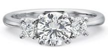 Three Stone Engagement Rings / Browse our selection of three stone engagement rings.  Call 216-464-6767 for more information.