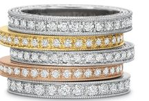 Diamond Wedding Bands / Browse our selection of diamond wedding bands in platinum, white gold, yellow and rose gold. Call 216-464-6767 for more information.