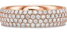 Rose Gold Wedding Bands / Browse our collection of rose gold wedding bands.  Call us at 216-464-6767 for more information.