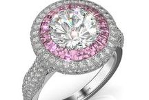 Diamond and Colored Gemstone Engagement Rings / Browse our selection or diamond and colored gemstone engagement rings.  Call 216-464-6767 for more information.