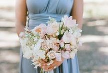 Rose Quartz and Serenity Wedding / Rose Quartz and Serenity are the Pantone Colors of the Year for 2016.  They also make for a beautiful color theme for your wedding.  Browse our board for inspiration!