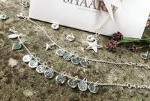 Personalised Jewellery / Silver plated initial charms, hand stamped in England, for necklaces & bracelets
