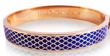 Halcyon Days at Alson Jewelers / Halcyon Days was founded in 1950 as an emporium of antique gifts in Mayfair, London. The company creates a variety of hand-decorated and hinged enamel bangles.