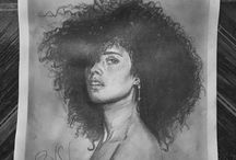 My Draw / #Draw #Charcoal #Graphite