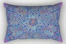 Home Products / Home products (pillows, comforters, shower curtains, tapestry, blanket, towels, etc.) made with my images.