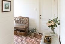 mudroom / decor and organization ideas for mudrooms including diy projects