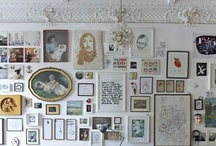 Ideas for walls / A blank wall is a sad thing to behold. From clever ways to arrange picture frames to show-stopping wallpapers and DIY wall art, these are the most creative ideas for walls with wow.